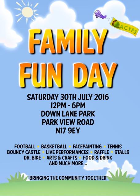 Tottenham Family Fun Day